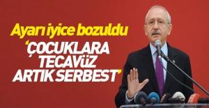 Kılıçdaroğlu saçmaladı! Çocuklara tecavüz serbest