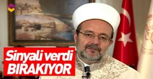 Mehmet Görmez görevi bırakıyor