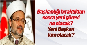 Mehmet Görmez'in yeni görevi için iki iddia