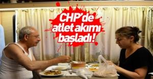 CHP'de atlet akımı