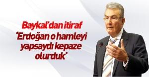 Deniz Baykal#039;dan Erdoğan itirafı