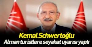 Kemal Almanya dışişleri bakanlığına...