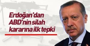 ABD'nin silah satışı kararına Erdoğan'dan tepki!
