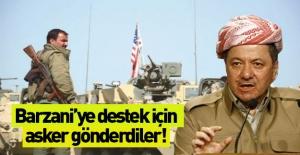 Barzani'yi koruyacak özel kuvvetler kente geldi
