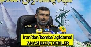 İran#039;dan #039;bomba#039; açıklama:...