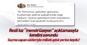 Itır Esen, 15 Temmuz tweeti için açıklama yaptı!