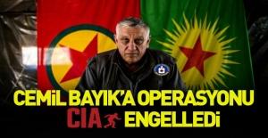 Terörist başı Bayık'a operasyonu ABD engelledi!