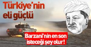 Türkiye#039;nin Barzani#039;ye karşı...