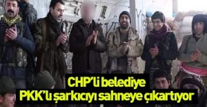 Yine CHP'li belediyen yeni rezalet… PKK'lı şarkıcıyı sahneye çıkarıyorlar!