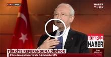 Kılıçdaroğlu ANAP'ın Hayır demesine güveniyor