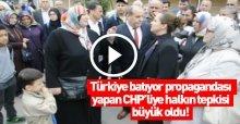 Halk, CHP'li Cankurtaran'a ders verdi VİDEO