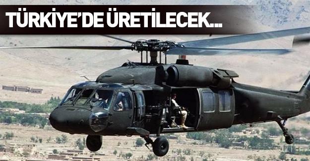 109 BlackHawk (Kara Şahin) Türkiye'de üretilecek