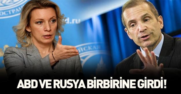 ABD ile Rusya birbirine girdi: Kapayın çenenizi!