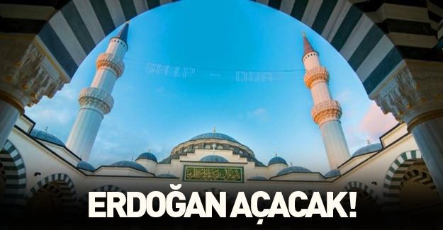 ABD'nin ilk çift minareli camisini Erdoğan açacak