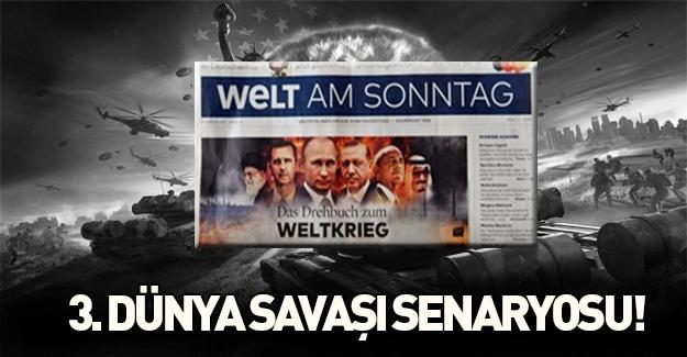Alman gazetesi 3. Dünya Savaşı senaryolarını yazdı