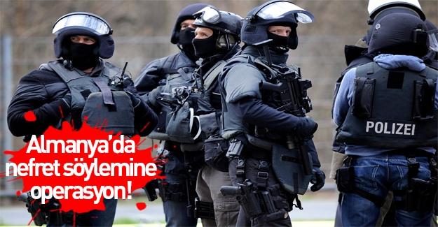 Almanya'da internette nefret söylemi yapanlara operasyon