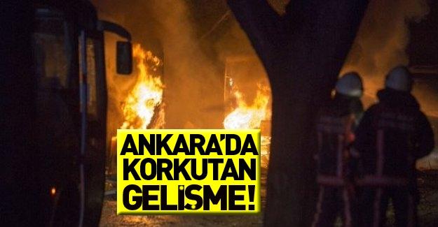 Ankara'da korkutan gelişme!
