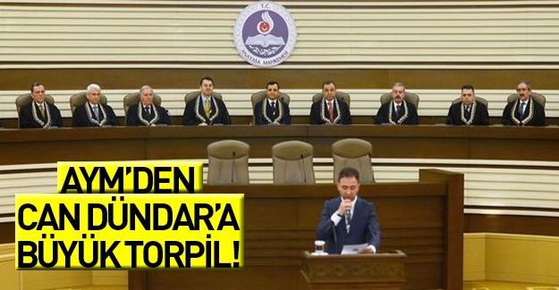 AYM'den Can Dündar'a torpil!