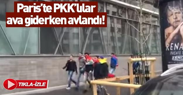 Azerbaycanlılara saldıran PKK'lılar karşılık verilince kaçtı!