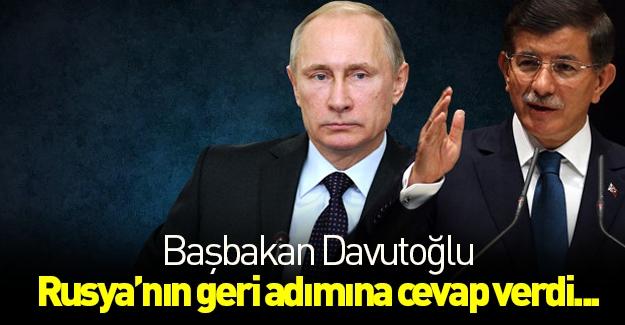 Başbakan'dan Rusya'ya cevap!