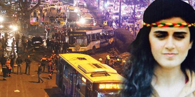 Bombacı teröristin cesedi ortada kaldı