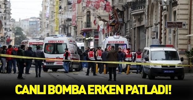'Canlı bomba erken patladı' iddiası!