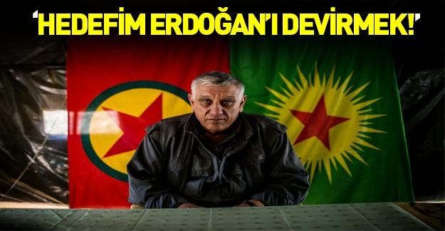 Cemil Bayık: Hedefim Erdoğan'ı devirmek