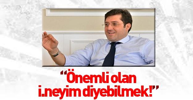 CHP'li Başkan: Önemli olan ibneyim diyebilmek