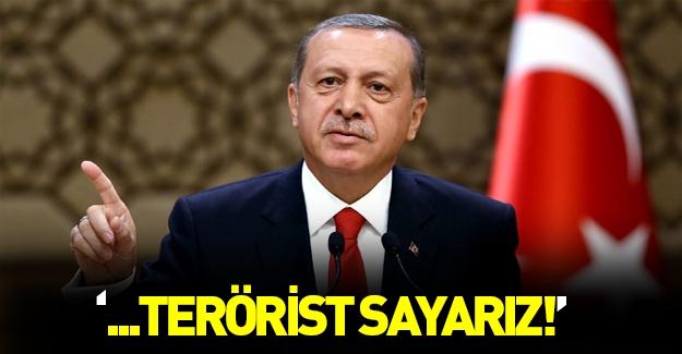 Cumhurbaşkanı Erdoğan'dan nefsi müdafaa açıklaması
