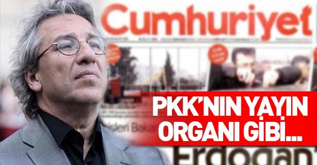 Cumhuriyet Gazetesi'nden PKK skandalı!