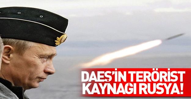 DAEŞ'in eleman kaynağı Rusya!