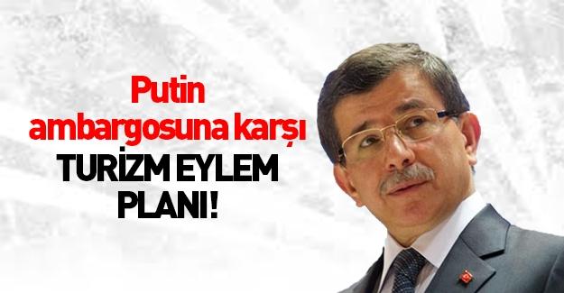 Davutoğlu 2016 Turizm Eylem Planı'nı açıkladı