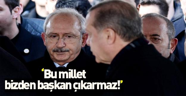 Erdoğan başkanlık sistemini istemeyenleri eleştirdi