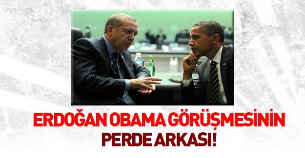 Erdoğan - Obama görüşmesinin ayrıntıları!