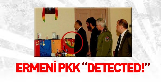 Ermenistan Bakanı'ndan PKK'lı teröristin evine ziyaret!