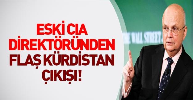 Eski CIA direktöründen flaş Kürdistan çıkışı!