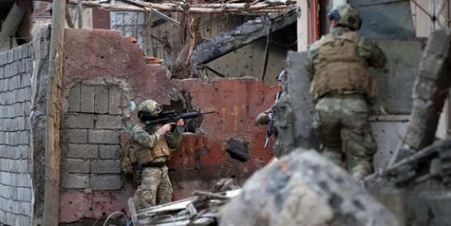 Hakkari Yüksekova şiddetli çatışma: 19 terörist öldürüldü