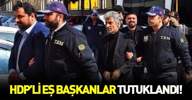 HDP'li eş başkanlar tutuklandı