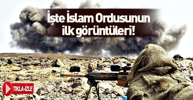 İşte İslam Ordusu'nun muhteşem görüntüleri
