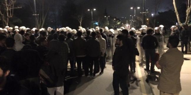 İTÜ, Ayazağa kampüsünde ''Sol'' görüşlü terör yandaşları müslüman öğrencilere saldırdı