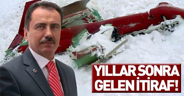 Muhsin Yazıcıoğlu'nun sağ kolunda yıllar sonra gelen itiraf