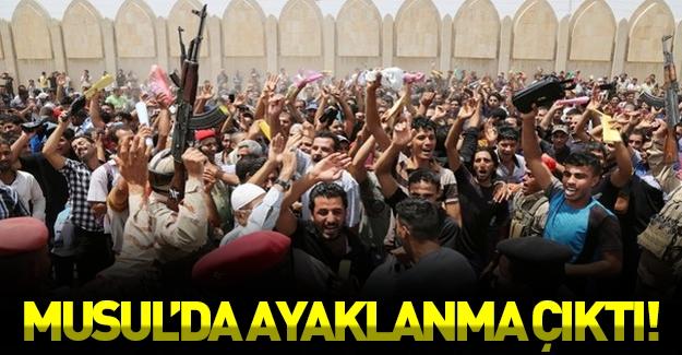 Musul'da ayaklanma çıktı!