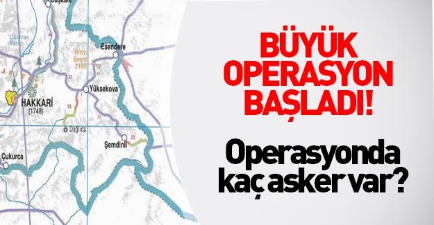 Nusaybin ve Yüksekova'ya asker girdi PKK'lı sayısına bakın!
