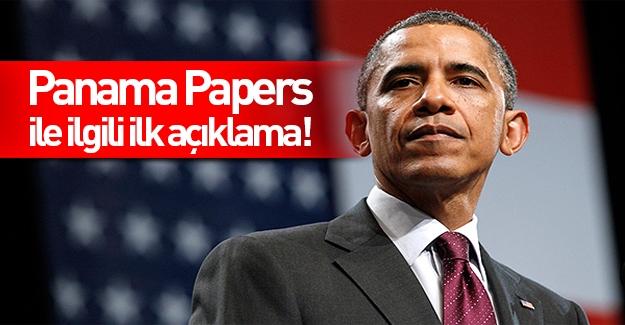 Obama'dan Panama belgeleri ile ilgili ilk açıklama