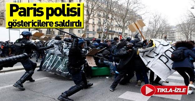 Paris ve Toulouse'da hükümet protesto edildi