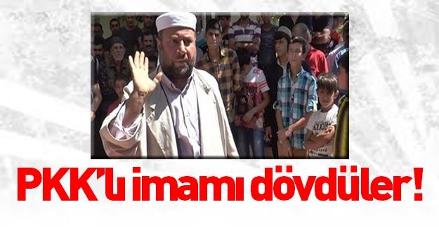 PKK'nın sözde imamına teröristlerden namaz dayağı
