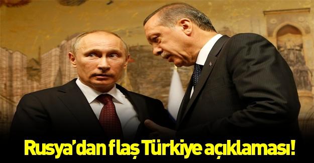 Rusya'da son dakika Türkiye açıklaması