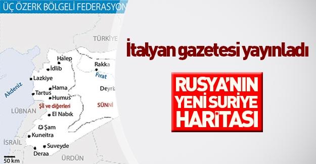 Rusya Suriye'yi bölmek istiyor