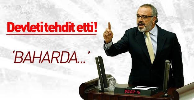 Sakık Türkiye'yi tehdit etti!