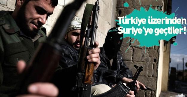 Savaşçılar Türkiye üzerinden Azez'e geçti!